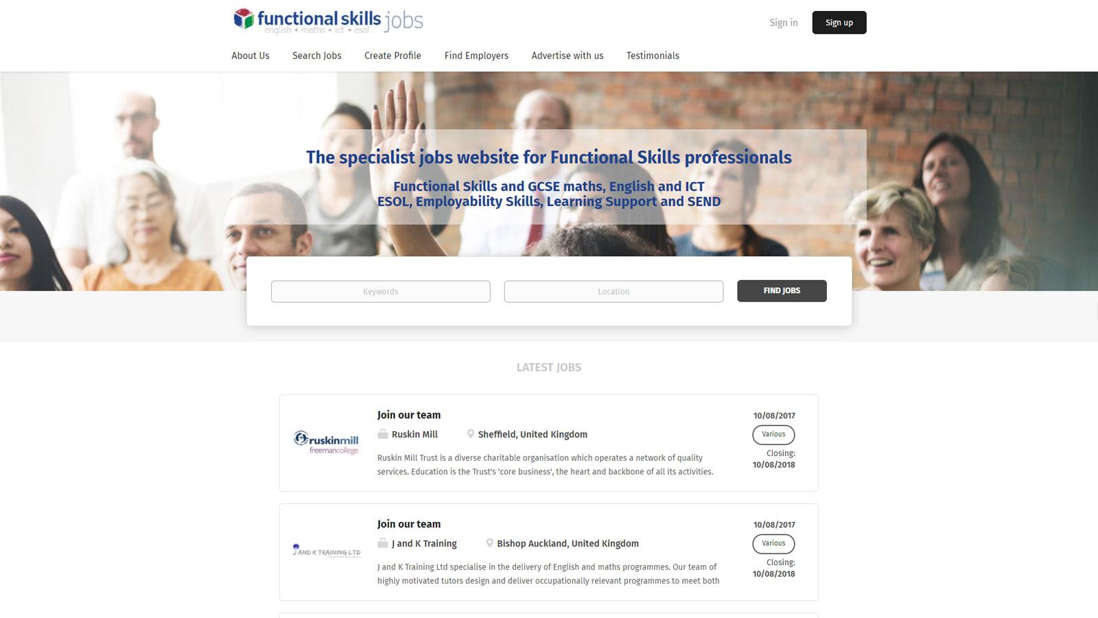 www.functionalskillsjobs.uk